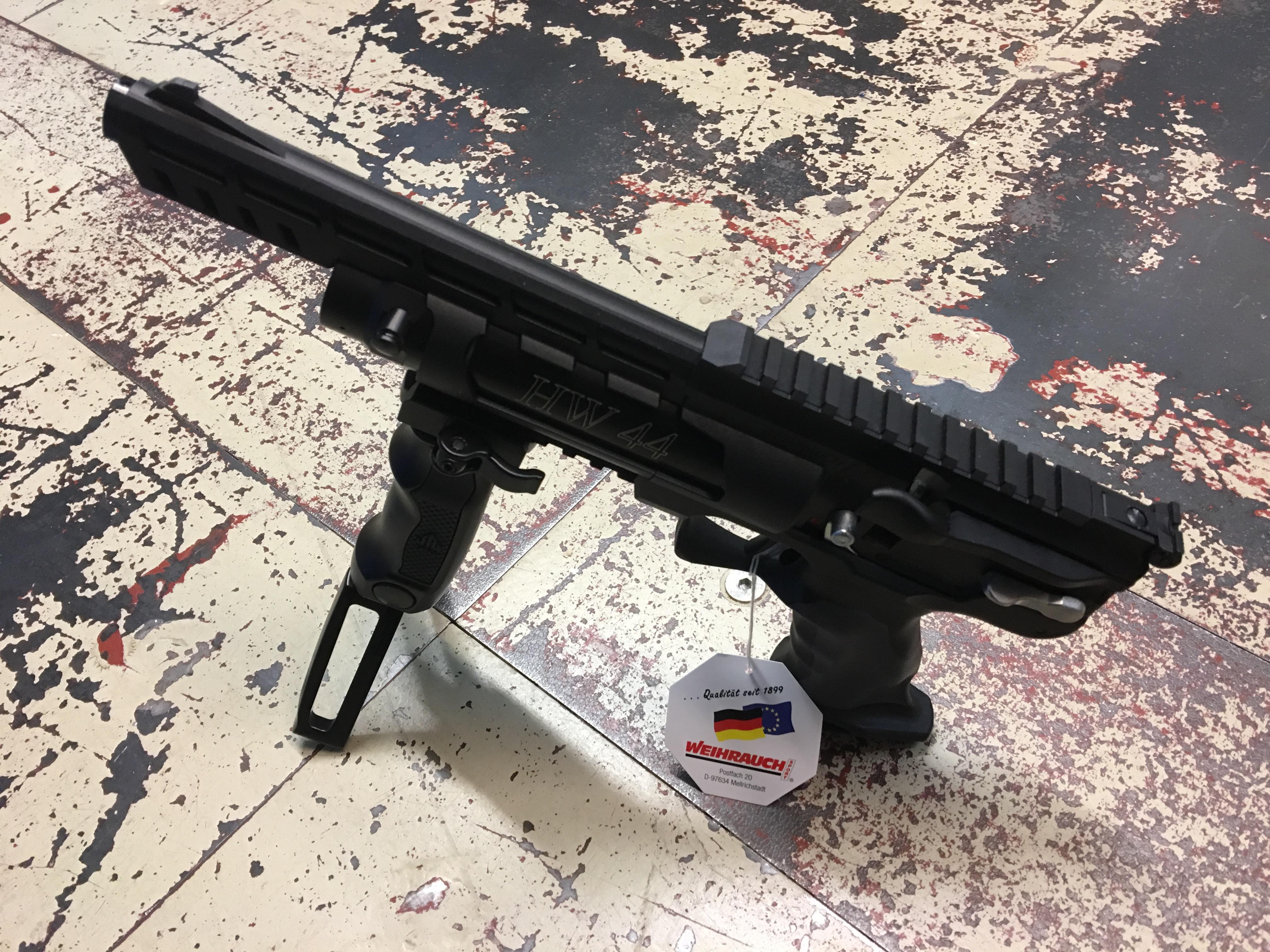 Anwendungsbeispiel an der <a href=1160008-45.htm>Luftpistole Modell HW 44</a>