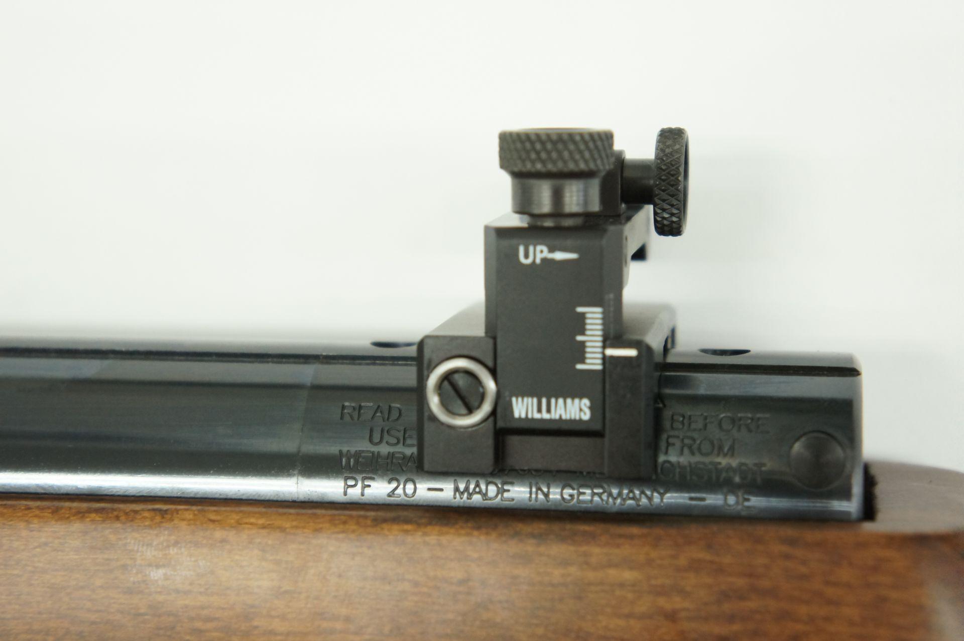 Montagebeispiel auf Luftgewehr HW 77