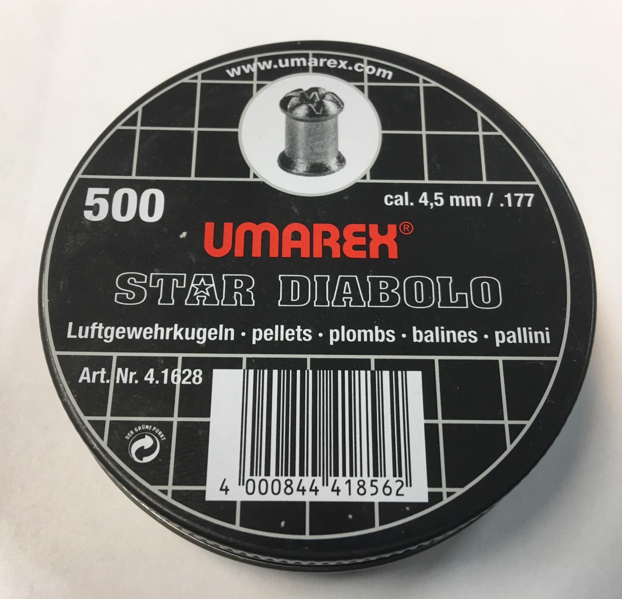 Star Diabolo von Umarex, 500er Dode, Kaliber 4,5mm