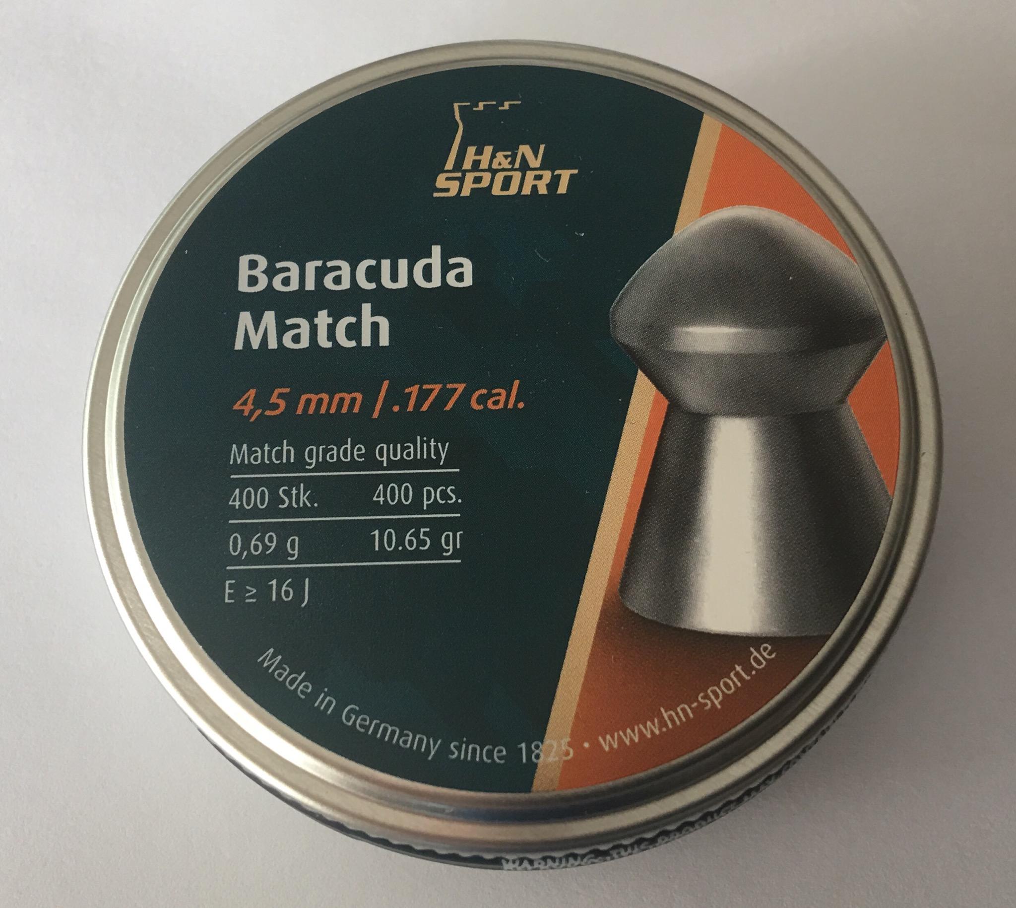 H und N Diabolo Baracuda Match 4.50mm