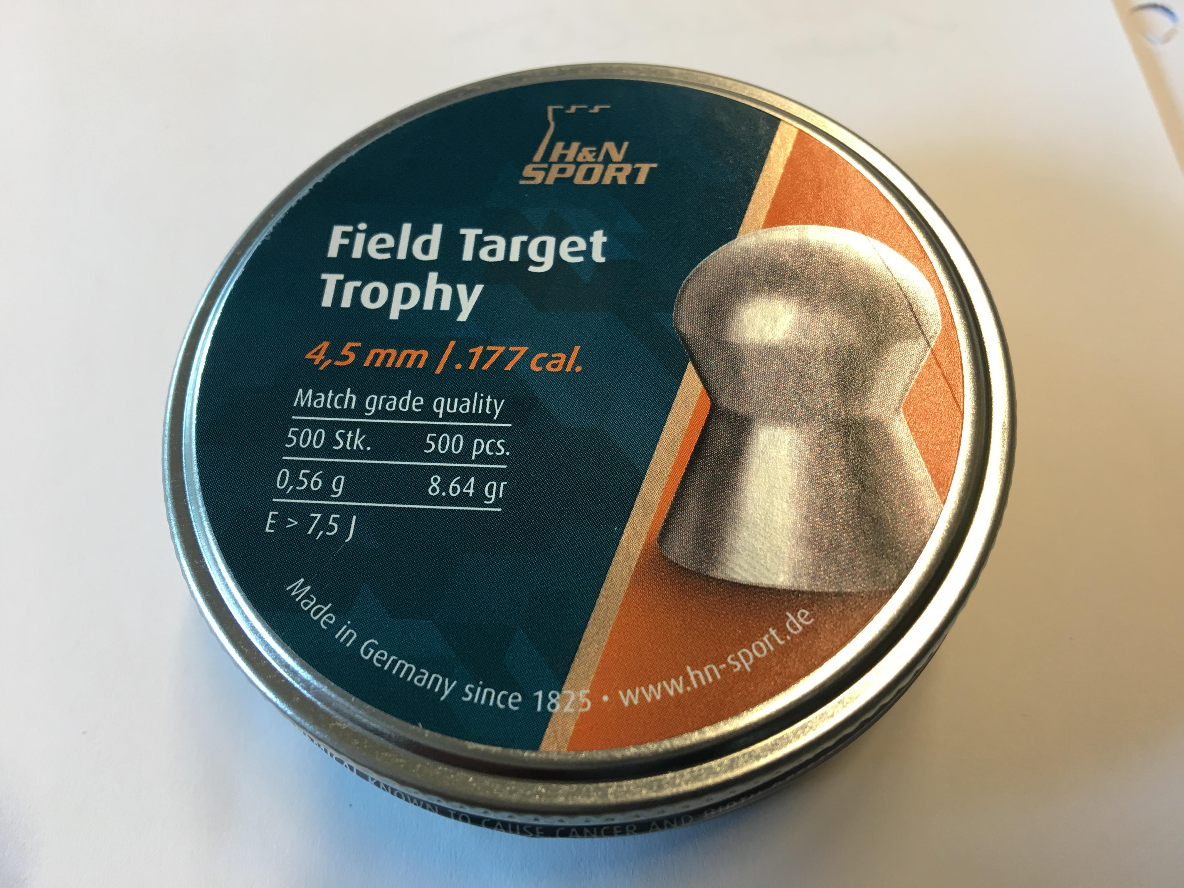H und N Field Target Trophy für Luftgewehre und CO2-Gewehre