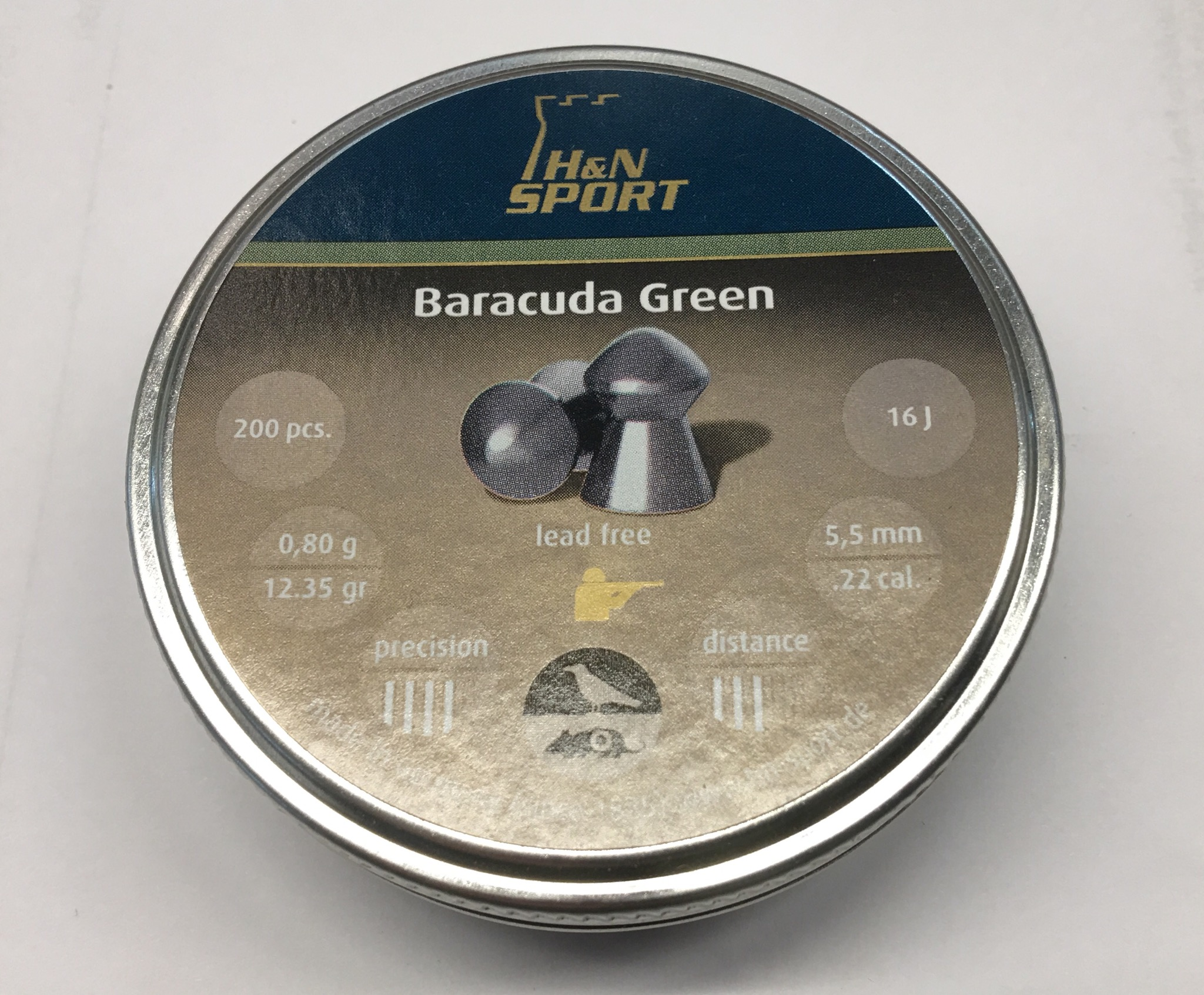 H&N Baracuda Green 5,5 mm