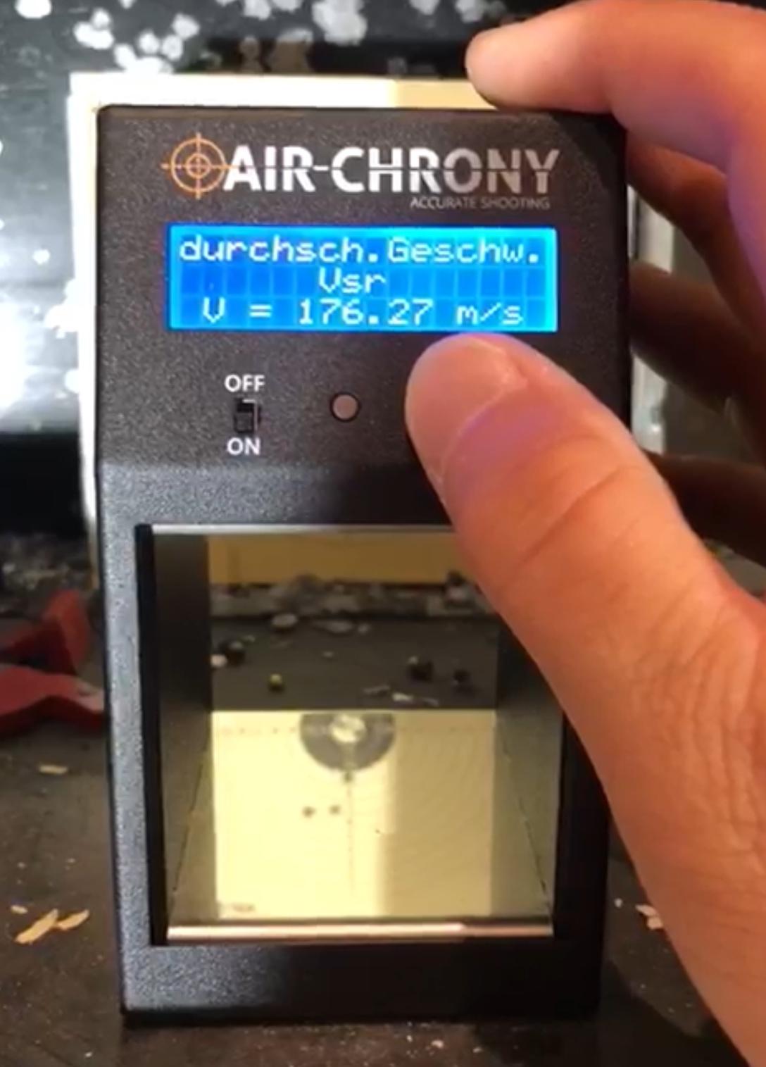 Das Air Chrony MK3 wurde in erster Linie für airguns konziepiert.