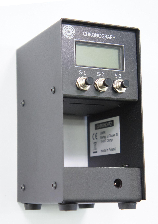 NEU Ballistischer Chronograph R2, Druckluftwaffen- Geschwindigkeitsmessgerät inkl. Tasche
