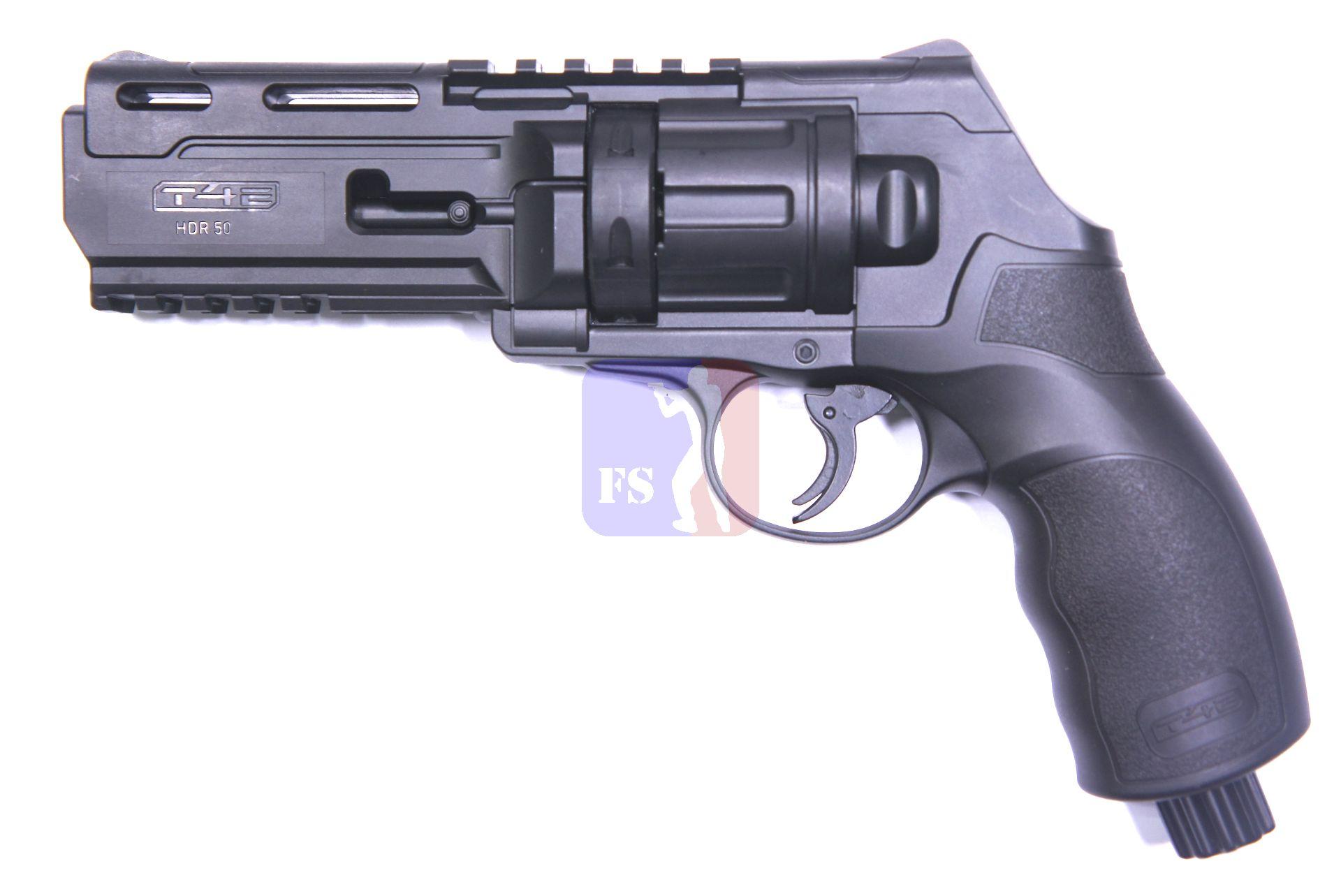 HDR 50. CO2 Revolver beispielsweise für Gummikugeln