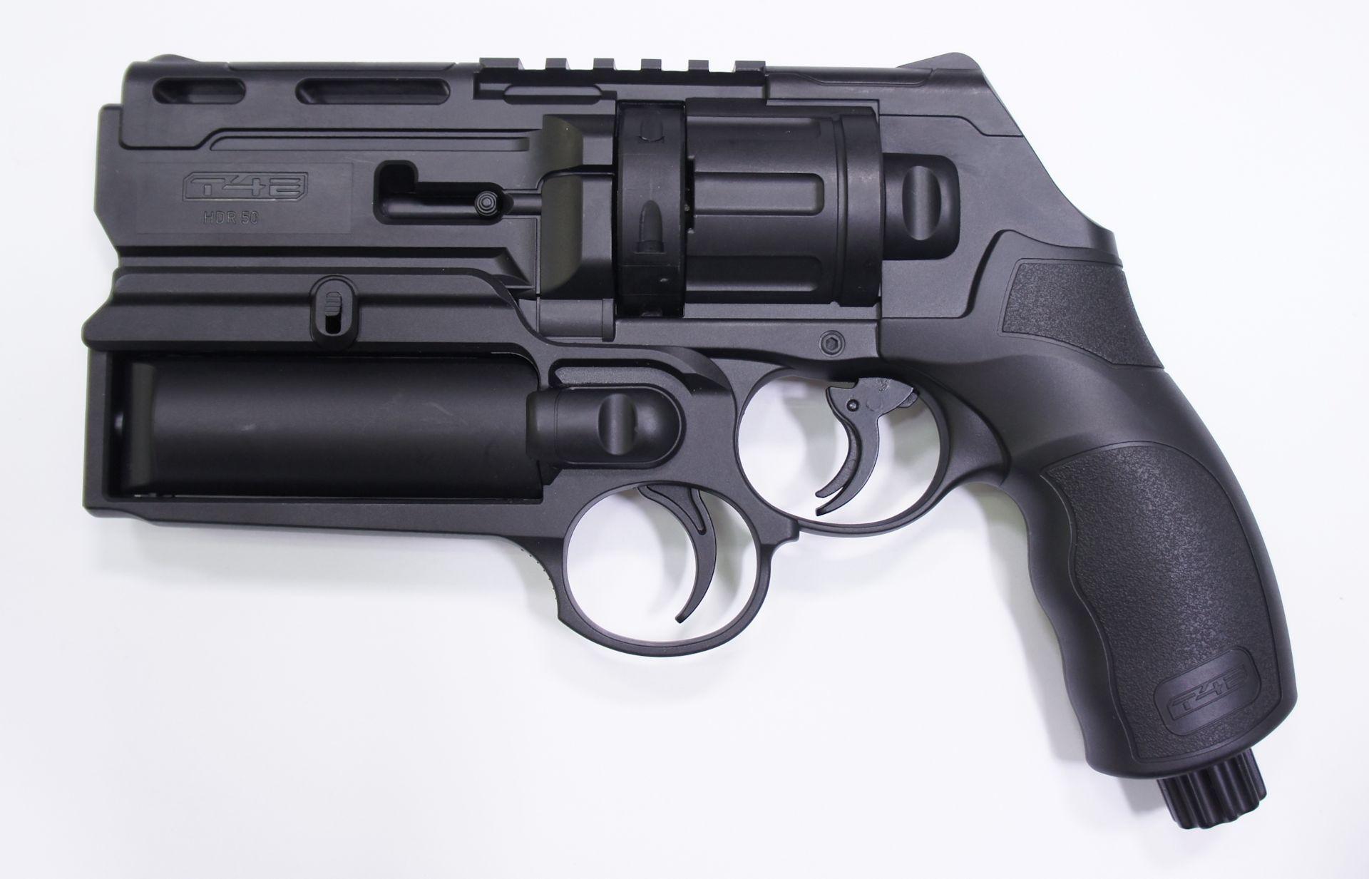 Dieses Gassprühgerät  passt perfeht an die Waffe HDR 50