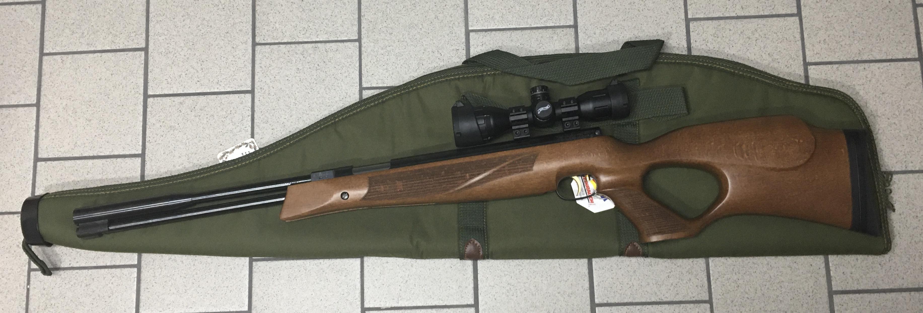 Anwendungsbeispiele mit Luftgewehr Weihrauch Modell 97 KT