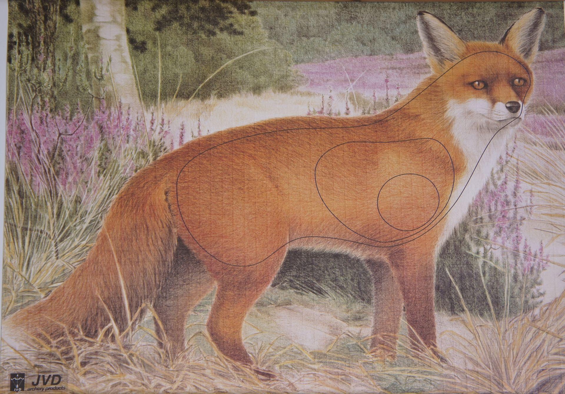 Scheibenauflage Fuchs für Bogenschützen