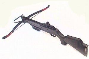 Schützen Armbrust mit 2 Alupfeilen, 130 lbs (engl. Pfund)