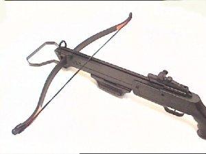 Schützen Armbrust mit 2 Alupfeilen