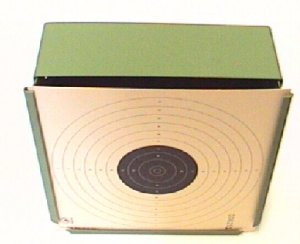 Scheibenkasten für Luftpistolenscheiben, Kugelfang 17x17