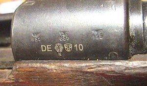 K98 als Salutgewehr
