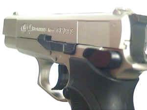 Gaspistole Browning GPDA vernickelt