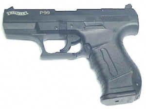 Walther P99 Schreckschuss und Gaspistole in schwarz