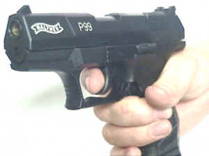 Gaspistole Walther P99