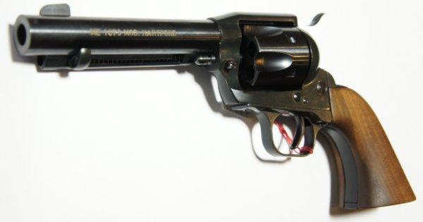 Gasrevolver ME 1873 Hartfort in der schwarzen Ausführung
