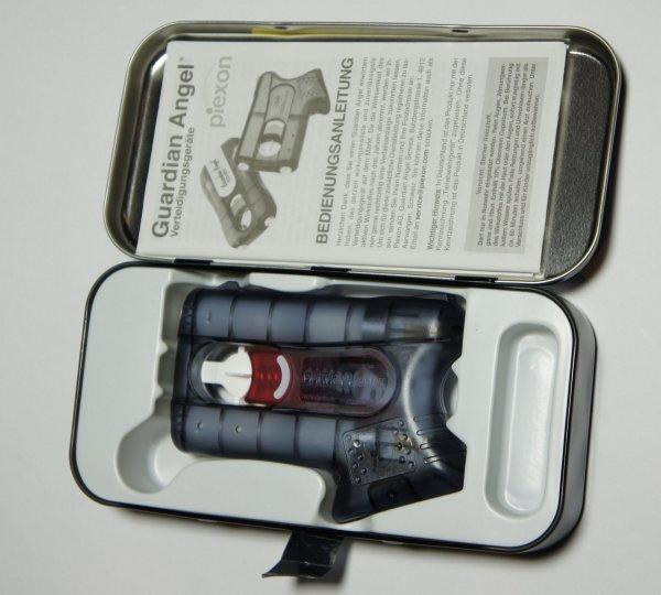 Der Guardian Angel 2 wird in einer Geschenkbox geliefert.