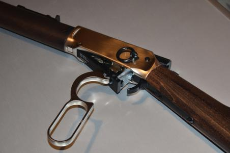 Co winchester walther lever action steel finish