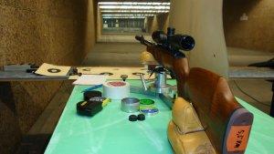 Anwendungsbeispiel mit der Henke Rifle Rest - Schießauflage
