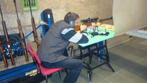Luftgewehr einschießen